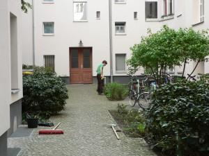 Innenhofpflege
